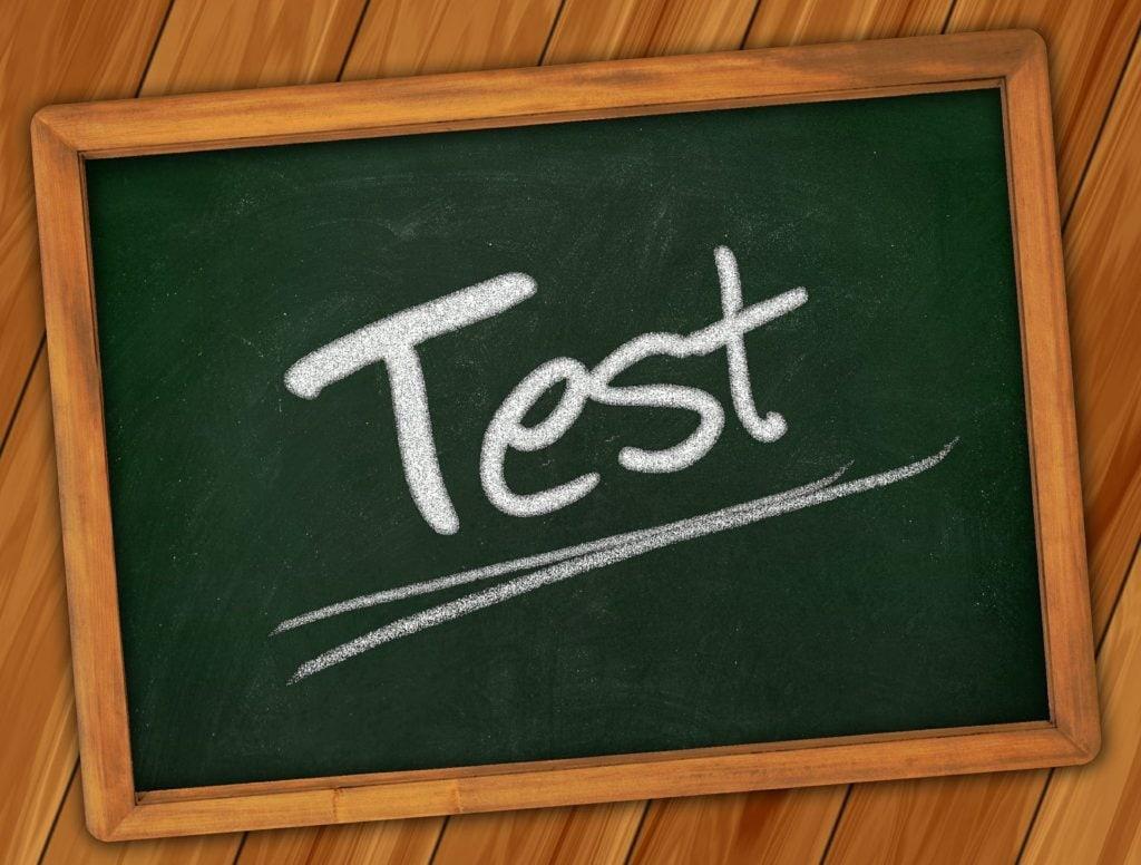 Test Schild