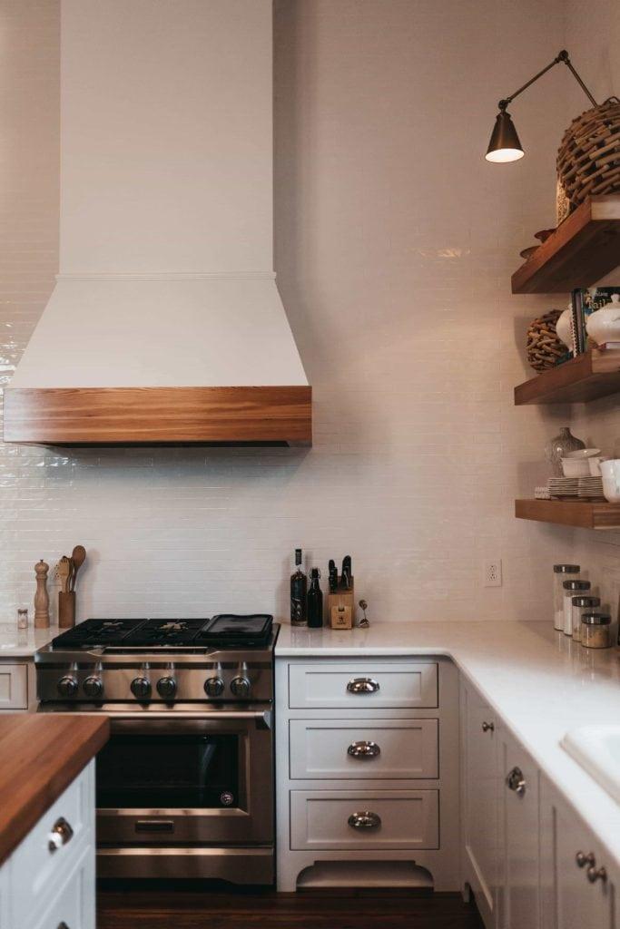 Herd in der Küche