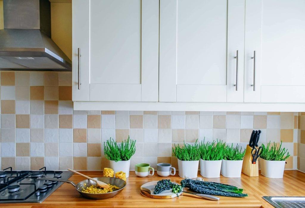 Zuhause Küche