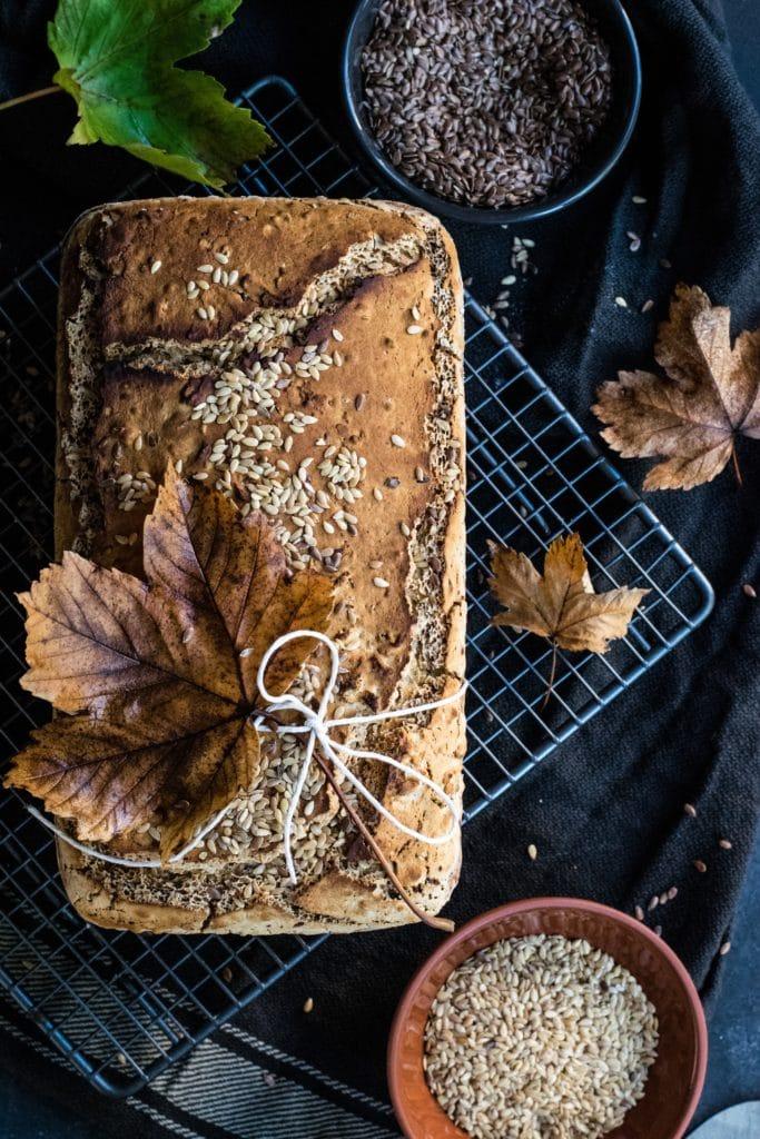 Brot aus Brotbackform