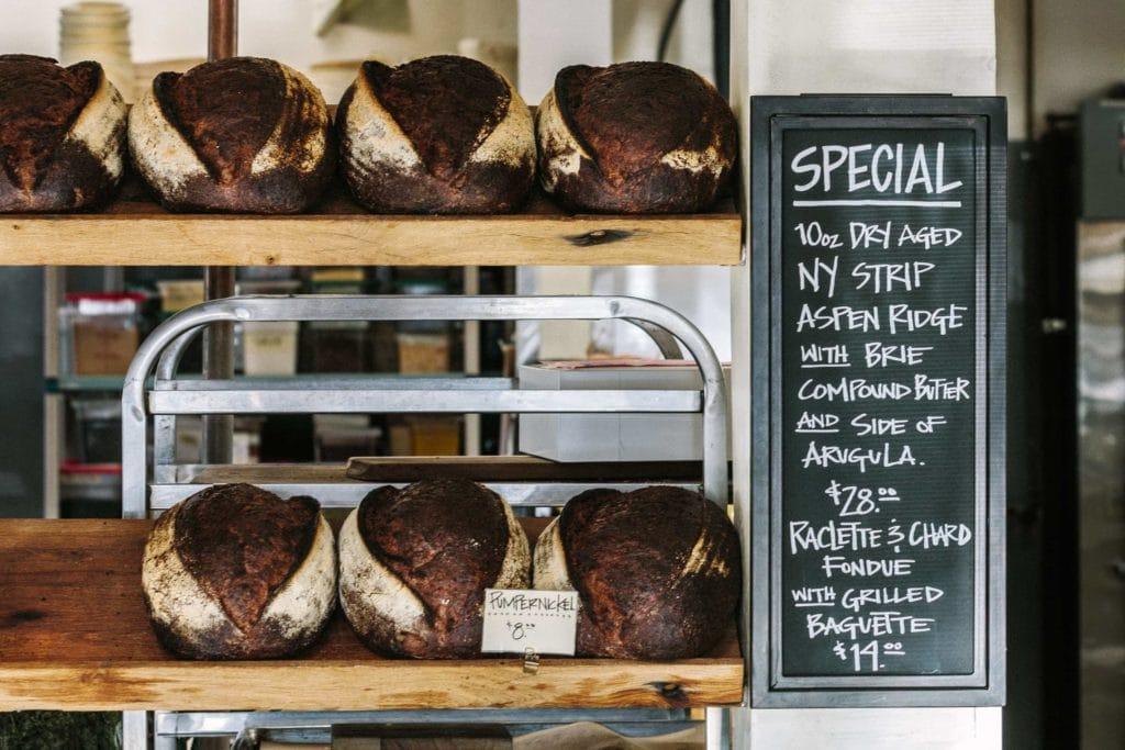 Brote zu kaufen
