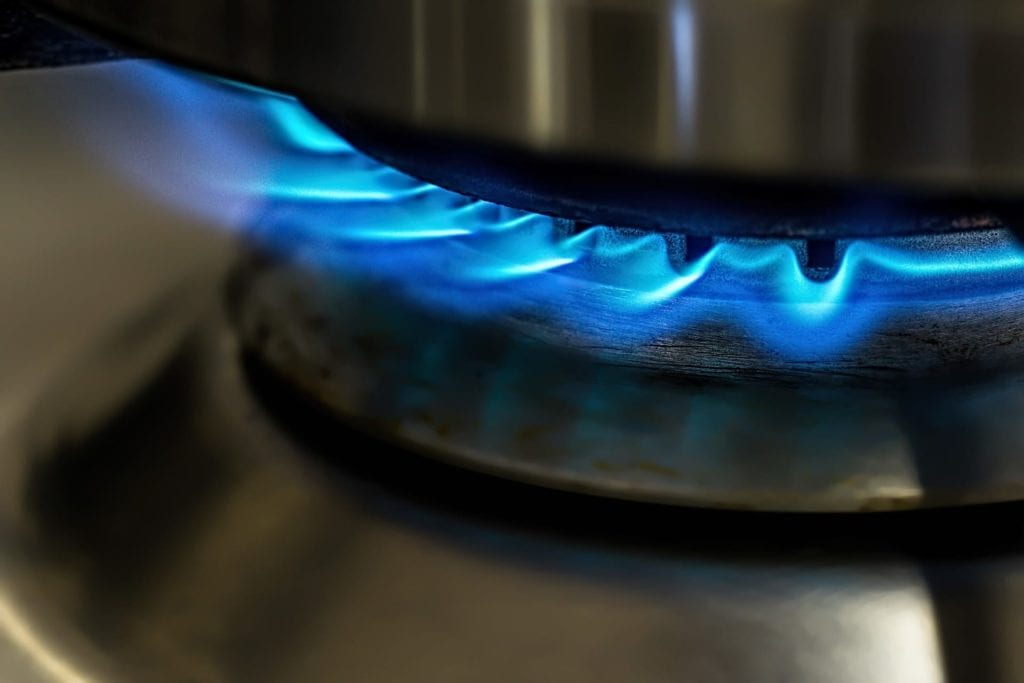 Flamme Gasplatte