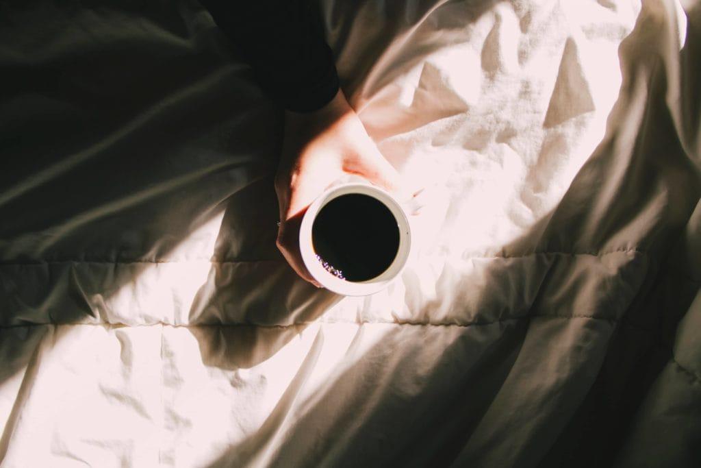 Gemütlich mit Kaffee