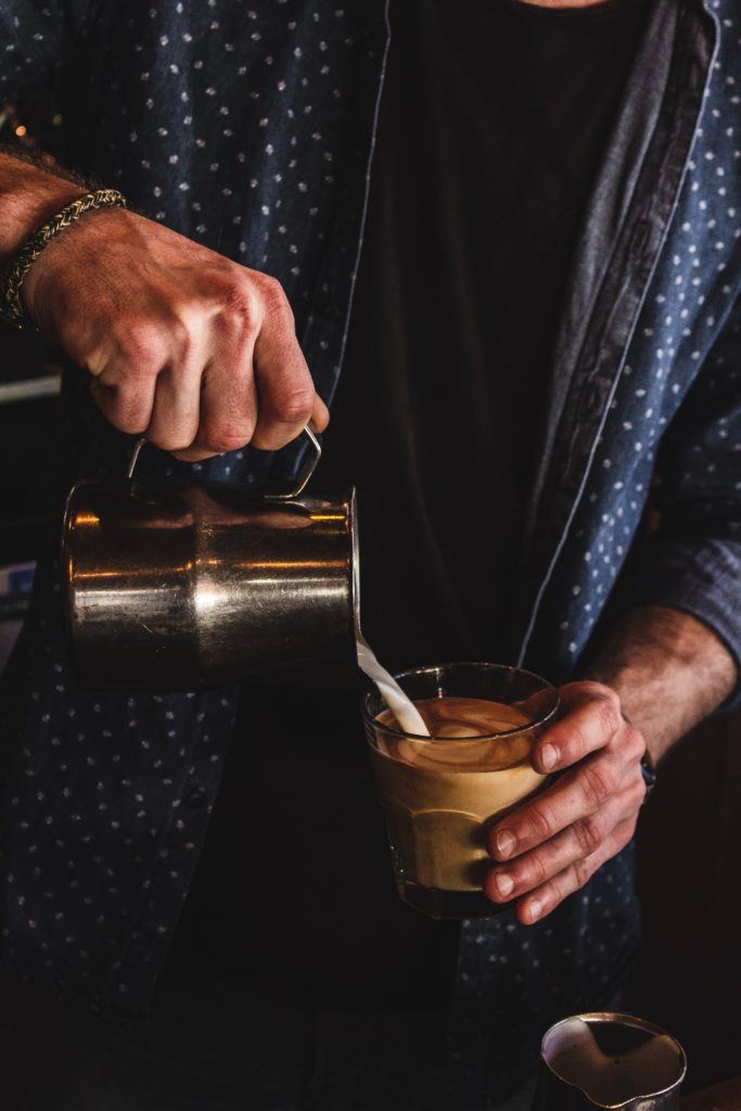 Kaffe Getreidemühle