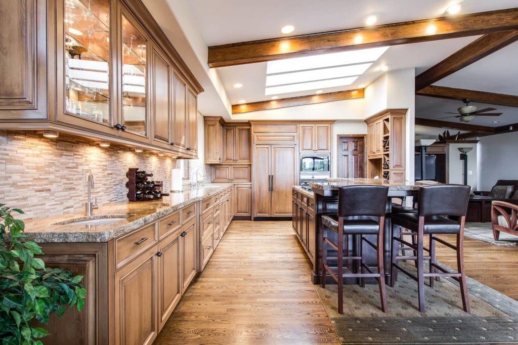 Küche groß