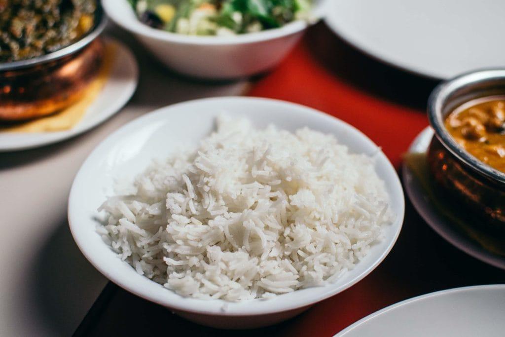 Reis fertig