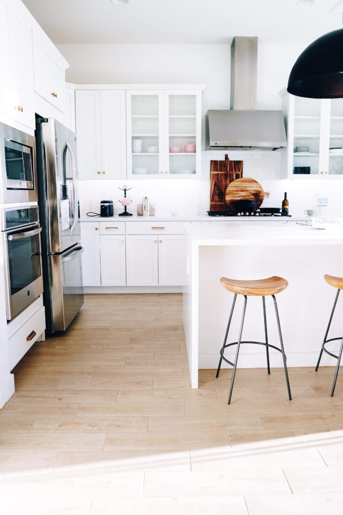 Helle Küche vertikal